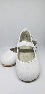 Sapato em couro Branco