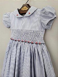 Vestido casinha de bordado Kate