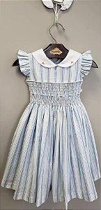 Vestido Bordado Casinha de Abelha Antonella Girl