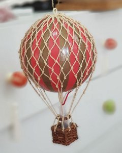 Balloon Vermelho ilustritto