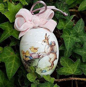 Ovo de Páscoa Bunny ilustritto (Personalizado)