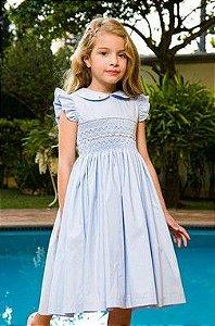 Vestido Bordado Maria Eduarda