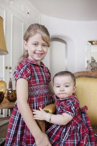 Vestido Casinha de Abelha Xadrez Bebe