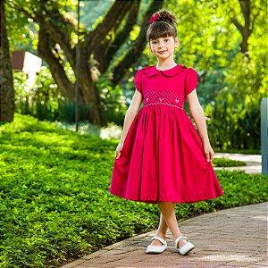 Vestido bordado Maria Clara