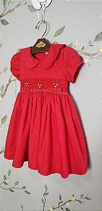 Vestido Bordado Chanel Vermelho