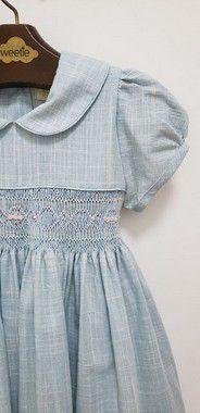 Vestido bordado Viviane