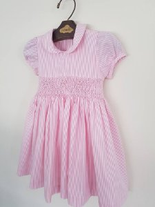 Vestido Listrado Rosa BB