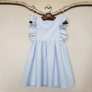 Vestido Bebê Capri Azul