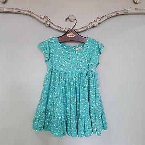 Vestido Bebê Turin Primavera Azul