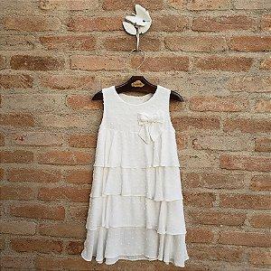 Vestido Bebê Modena Branco