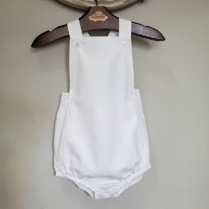 Banho de Sol Bebê Unissex Branco