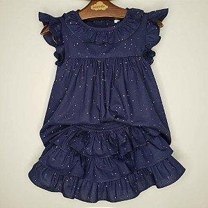 Conjunto Bebê Rimini Azul Marinho