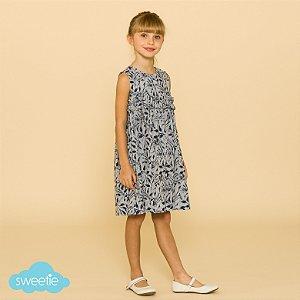 Vestido Infantil Azaleia Tropical