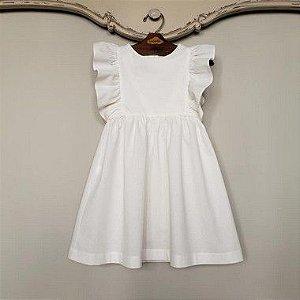 Vestido Infantil Capri Off White Def