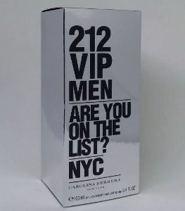 Perfume Carolina Herrera 212 Vip Men Edt 100 ML
