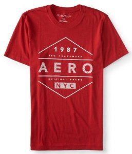 Camisa Aeropostale Aero Diamond Logo Graphic Tee G
