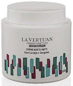 Creme Esfoliante Com Laranja E Gengibre 500g - La Vertuan