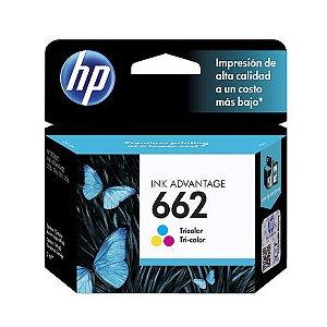 Cartucho de Tinta HP 662 Color - HP