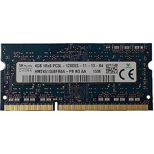 Memória Sk Hynix 4gb Ddr3 1600mhz Pc3l-12800s