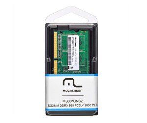 MEMÓRIA NOTEBOOK MULTILASER 8GB 1600MHZ DDR3 CL11, MM820