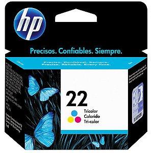 Cartucho Hp Original 22 Color