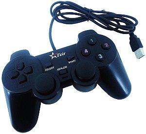 Controle Para Pc Usb Joystick Original Feir