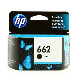 CARTUCHO HP 662 - PRETO CZ103AB