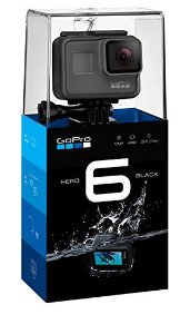 "Câmera Digital e Filmadora GoPro Hero 6 Black 12MP Vídeo 4K LCD 2.0"" Wi-Fi"