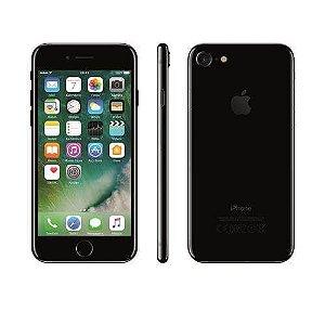 iPhone 7 Apple 32GB/128GB,/256GB com Tela Retina HD de 4,7, 3D Touch, iOS 10, Touch ID, Câmera 12MP, Resistente a Água e Sistema de Alto-Falantes Estéreo – Preto Brilhante