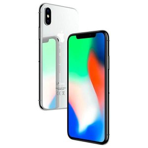 "Apple iPhone X 64GB/ 256GB Tela Super Retina OLED 5.8"" 12MP/7MP iOS - Prateado"