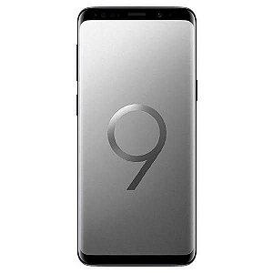 "Smartphone Samsung Galaxy S9 Dual SIM 64GB de 5.8"" 12MP/8MP OS 8.0 - Cinza"