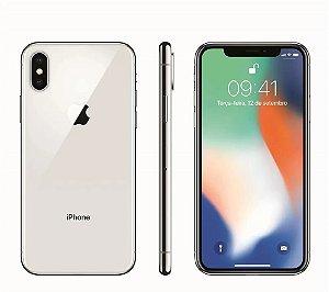 """iPhone X Apple com 64GB, Tela Retina HD de 5,8"""", iOS 11, Dupla Câmera Traseira, Resistente à Água e Reconhecimento Facial"""