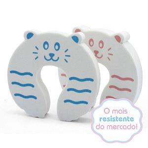 Salva Dedos Protetor de Portas - Gatinho - Trava Portas - 2 peças