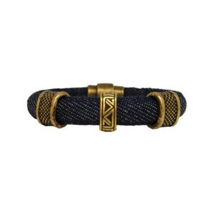 Pulseira Jeans Dark Man Gold