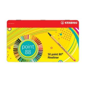 Kit Stabilo Point 88 50 cores