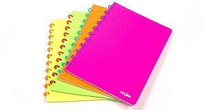 Caderno Atoma Neon Pautado