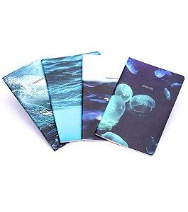 Caderneta Revista Cicero Natureza O Mar