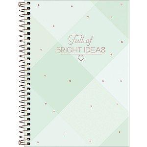Caderno Tilibra Soho Colegial 1 Materia Bright Ideas Xadrez