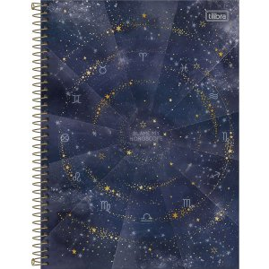 Caderno Universitário 10 Materias Tilibra Magic Blame my Horoscope