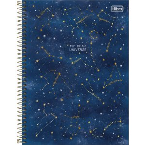 Caderno Universitário 1 Materia Tilibra Magic My Dear Universe