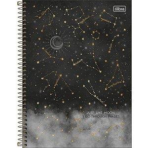 Caderno Universitário 1 Materia Tilibra Magic Just Like Moon