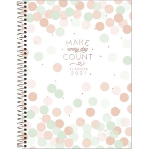 Planner Tilibra Soho 2021 Make Every Day Count Branco