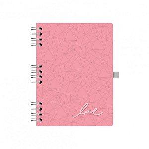 Caderno Otima Pink Stone