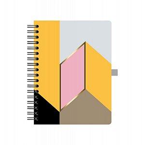 Caderno Colegial Otima Allegro Oblique