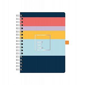 Caderno Colegial Otima Allegro Stripes