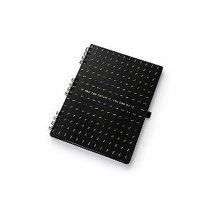 Caderno Otima Noir Hifens