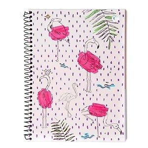 Caderno universitario Cicero Memphis Flamingo