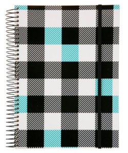 Caderno Universitario Confetti Xadrez