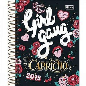 Agenda Diaria Tilibra Capricho 2019 Girl Gang