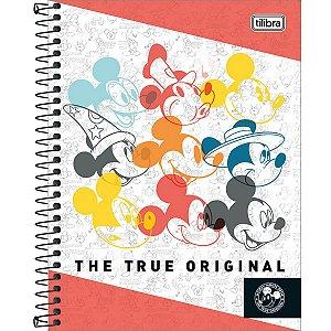 Caderno Colegial Tilibra Mickey 90 Anos True Original 1 Materia